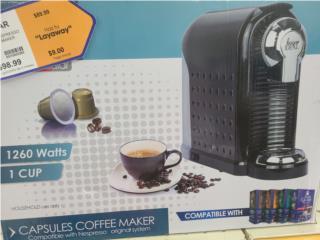 Coffee maker, LA FAMILIA MANATI  Puerto Rico