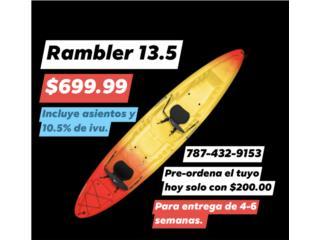 Perception Rambler 13.5 doble pre sale, The SUP shack  Puerto Rico