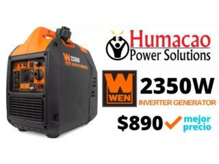 WEN 2350W Inverter con GARANTÍA LOCAL, HUMACAO POWER SOLUTIONS LLC Puerto Rico
