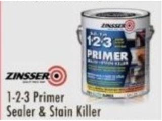 1-2-3 PRIMER SEALER AND STAIN KILLER , Ferreteria Ace Berrios Puerto Rico