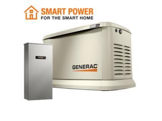 GUARDIAN GENERAC 20KW GAS WiFi-COMBO, G.T. Generac Power Division. Puerto Rico