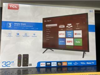 """TCL 32"""" Smart TV, La Familia Casa de Empeño y Joyería-Guaynabo Puerto Rico"""