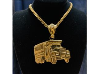 Charm Camion en Oro 14kt , CashEx Puerto Rico