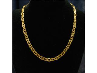 Cadena Gucci en Oro 14kt de 21
