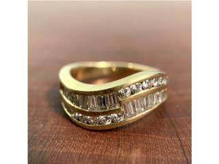 Anillo en Oro 18kt con Diamantes , Cashex Puerto Rico