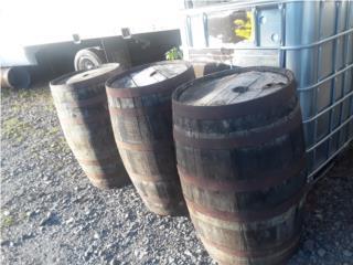 Barriles de madera rusticos importados, ANROD NATIONAL EXPORT INC. Puerto Rico