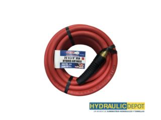 25' x 3/8 USA Hybrid Air Hose, Hydraulic Depot/GMC Rentals Puerto Rico