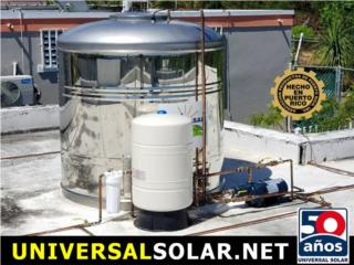 450-600 Stainless Steel (100%) SIN QUIMICOS, UNIVERSAL SOLAR PRODUCTS, INC. Desde 1965 en PR. Puerto Rico