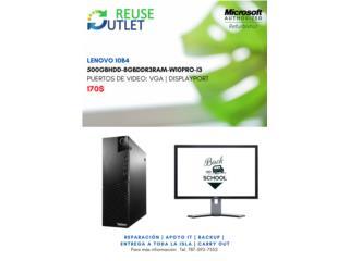 Computadora Lenovo 10B4, Reuse Outlet Store Puerto Rico