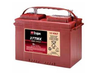 Bateria Trojan 27MTX Mobile, Garcia Energy, LLC. Puerto Rico