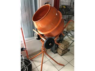 Electric Concrete Mixier Marca TK , DE DIEGO RENTAL Puerto Rico