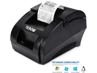 USB THERMAL RECEIPT PRINTER (TEROW), WSB Supplies U Puerto Rico