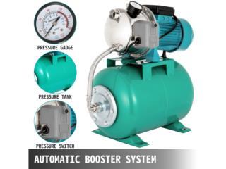 COMBO Bomba Agua 1 HP , Sigma Distributors PR Puerto Rico