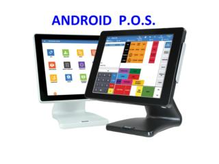 ANDROID POS TOUCH SCREEN $0 Costos Mensuales, Super Business Machines Puerto Rico