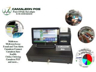 Camaleon  POS para Colmados , Supermercados ., Super Business Machines Puerto Rico