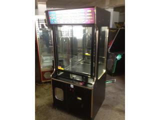 Máquina de Peluches y Juguetes, Máquinas Arcade Puerto Rico Puerto Rico