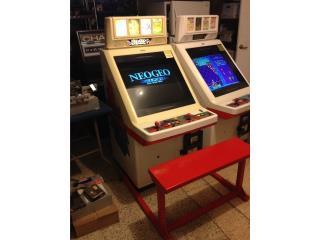 Neo Geo Arcade & Cartridge Neo Geo, Máquinas Arcade Puerto Rico Puerto Rico
