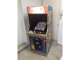 Ms Pacman, Galaga, Donkey Kong Arcade, Máquinas Arcade Puerto Rico Puerto Rico