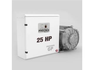 25 HP - Convertidor de Fase - 1 PH A 3 PH, FJR Equipment Puerto Rico