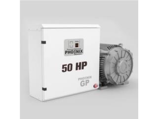 50 Caballos -Convertidor de Fase- 1 PH A 3 PH, FJR Equipment Puerto Rico