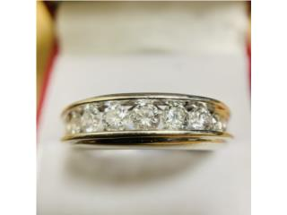 Anillo de Caballero en Oro 14kt y Diamantes, CashEx Puerto Rico