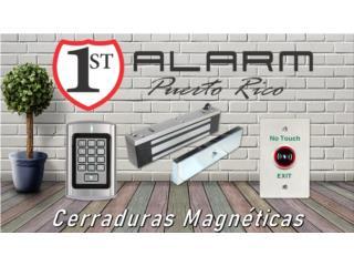 Cerradura Magnética , 1ST ALARM PUERTO RICO  Puerto Rico