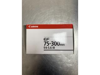 Lente CANON EF 75-300mm, La Familia Casa de Empeño y Joyería-Ave Piñeiro Puerto Rico