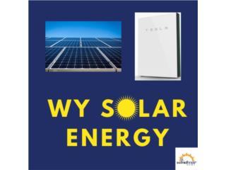 Placas solares y baterías Tesla , WY SOLAR ENERGY Puerto Rico