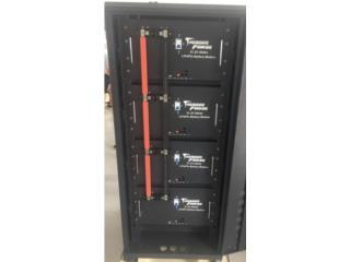 LITHIO  THUNDER POWER 48 V0LTIOS  82 K , FIRST TECH SOLAR Puerto Rico