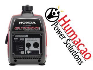 HONDA EU2200I COMPANION INVERTER GARANTIA CON, HUMACAO POWER SOLUTIONS LLC Puerto Rico