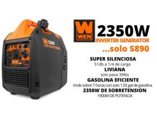 WEN 2350W Inverter con 2 AÑOS GARANTÍA LOCAL , HUMACAO POWER SOLUTIONS LLC Puerto Rico