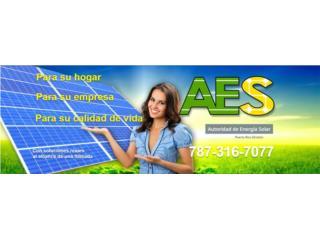 PANELES SOLARES USADOS ENTREGADOS, AUTORIDAD DE ENERGIA SOLAR Puerto Rico