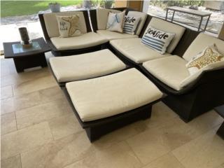 Muebles exterior Excelente calidad, J Cangiano Puerto Rico