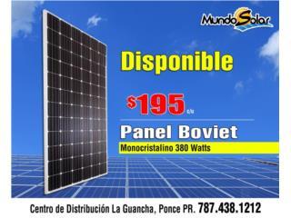 Bayamón Puerto Rico Plantas Electricas, Paneles Solares 380 Watts Placas solares