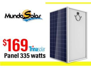 Caguas Puerto Rico Herramientas, Placas solares 335 watts