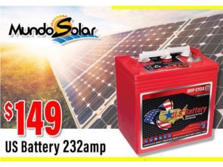 San Juan Puerto Rico Calentadores de Agua, Bateria 6V US battery 232amp