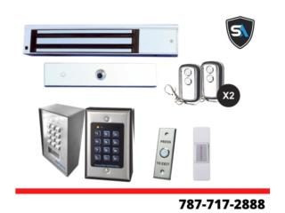 Magneticos de Puerta para Control de Acceso, Security & Automation  Puerto Rico