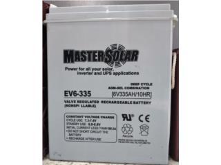 AGM 6v 400AH 335AH 235AH Master Solar, PowerComm, Inc 7878983434 Puerto Rico
