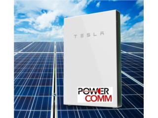 Placas Solares con Bateria Tesla Cash, PowerComm, Inc 7878983434 Puerto Rico