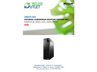 Computadora Lenovo 3134, Reuse Outlet Store Puerto Rico