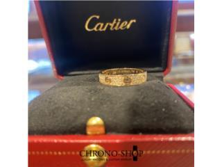 Cartier Love Ring size 7 (Factory Diamonds) , CHRONO - SHOP Puerto Rico