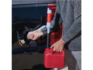 Bomba de transferencia batería Gasolina/OIL, Tech Factory USA Puerto Rico