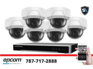 Oferta de 6 Camaras Profesional HD, Security & Automation  Puerto Rico