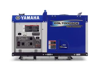 Diésel 7000 Watts Yamaha entrega inmediata ., Energy Powers Solutions Puerto Rico