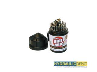 DRILL MUG 29PC. , Hydraulic Depot/GMC Rentals Puerto Rico