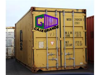 20' USED CONTAINERS READY TO GO!, Caja Grande Puerto Rico