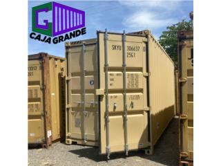 40' NEW ONE TRIP CONTAINER, Caja Grande Puerto Rico