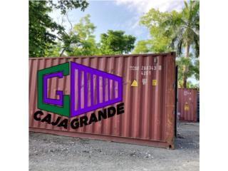 20' VAGON/ CONTENEDOR USADO, Caja Grande Puerto Rico