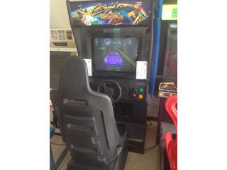 Cruisin Exótica Arcade Machine, Máquinas Arcade Puerto Rico Puerto Rico