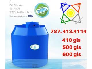 Cisterna de 500 gls., DELTA SOLAR CORP. 787.413.4114 Puerto Rico